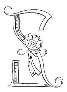 "Broderie D'Antan: Embroidery Patterns (24 Monograms for ""S"")"