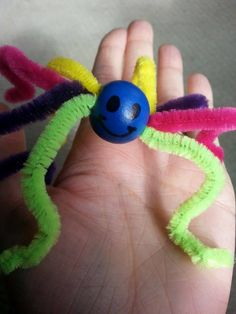 pipe cleaner bead craft - Google Search