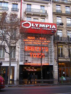 Teatro Olympia, Paris by betta design, via Flickr - The Olympia Theatre, at Boulevard des Capucines, founded in 1888