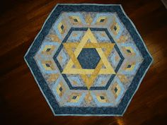 1000+ images about Judaic on Pinterest Star of david, Happy hanukkah and Quilt patterns