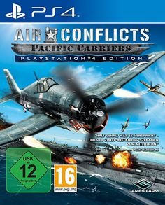 Air Conflicts: Pacific Carriers - PlayStation®4 Edition (PS4) - playstation spiele playstation geschenk play station 4 geschenkideen playstation 4 spiele playstation zocken play station console xbox spiele PC