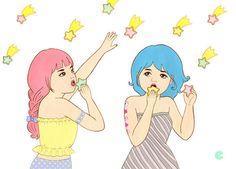 """""""cookie shower"""" Chika Takei"""