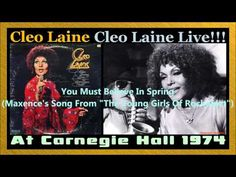 ▶ Cleo Laine ‎-- Cleo Laine Live at Carnegie Hall 1974-LP-33rpm (Full album) - YouTube