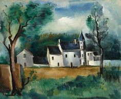 Maurice de Vlaminck (France La tourelle oil on canvas x Andre Derain, Modern Artists, Great Artists, Art Fauvisme, Fauvism Art, Maurice De Vlaminck, Landscaping Las Vegas, Art Station, Henri Matisse