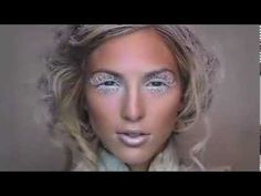 Introducing KRYOLAN ICE PRINCESS Watch our behind-the-scenes film for exclusive footage from the creation of our stunning Christmas 2013 look; Ice Princess Makeup, Ice Makeup, Chris Davis, Love Nails, Creative Inspiration, Make Up, Hair Styles, Christmas, Fairy
