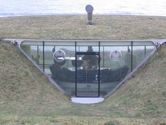 Underground house (close up) by Rekoob 1, via Flickr