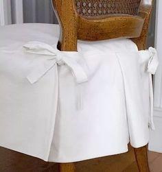 funda alta gama para sillas con tablones.