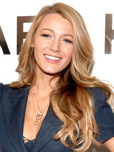 Blake Lively: Medium Skin, Golden Ombre blonde hair