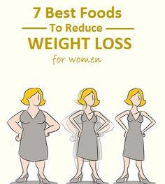 7 Best Foods To Reduce weight loss for women