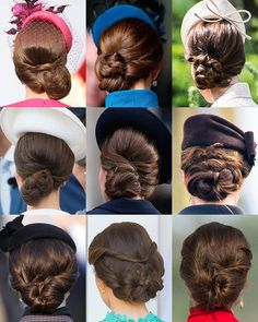 A look at The Duchess of Cambridge's different hairstyles, from her elegant ponytails to her many intricate updos. Royal Hairstyles, Loose Hairstyles, Beautiful Hairstyles, Good Hair Day, Great Hair, Duchess Kate, Duchess Of Cambridge, Hair Health And Beauty, Royal Girls