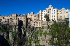 Algerian cliff homes