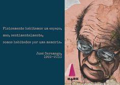 File:Fisicamente habitamos um espaço, mas, sentimentalmente, somos habitados por uma memória. José Saramago, 1922-2010 -pt.svg
