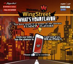 WingStreet mobile App