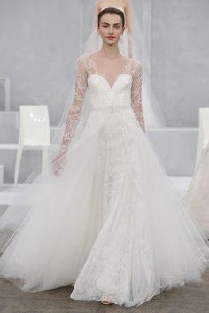 Robe de mariée Monique Lhuillier printemps-été 2015