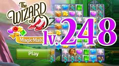 Wizard of Oz: Magic Match - Level 248 (1080/60fps)