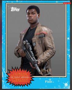 Finn - Star Wars:The Force Awakens Trading Cards