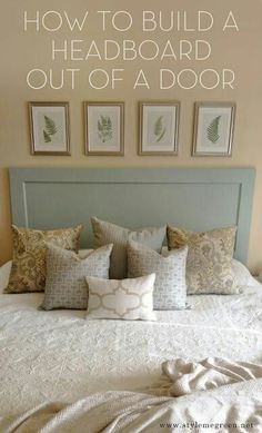 The Easy Way To Make An Upholstered Diy Headboard Pinterest Filing And Bedrooms