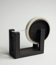 Iron tape cutter. Produced by hand at Nobuho Miya's Kamasada workshop.