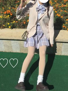 School Girl Japan, School Girl Outfit, Girl Outfits, Fashion Outfits, Womens Fashion, Girls Gallery, Kawaii Clothes, Cute Asian Girls, Plaid Skirts