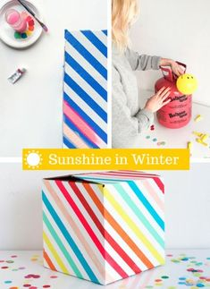 Winter getting you down? Here's an idea to help you fill it with sunshine!