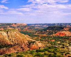 Palo Duro Canyon From the well-known artist Georgia O'Keeffe taught art in public schools in Amarillo in the Texas Panhandle, in the Palo Duro area. Palo Duro Canyon Texas, State Parks, Texas Land, Texas Usa, Texas History, Texas Travel, Adventure Is Out There, Beautiful Landscapes, Places To See