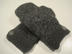 Lathrup Village Wool Mittens  med/lg  MMC485 by MichMittensbyLauri, $23.00