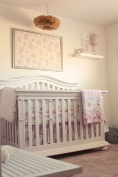 1000 images about baby girl nursery on pinterest baby girl nurserys girl nurseries and. Black Bedroom Furniture Sets. Home Design Ideas