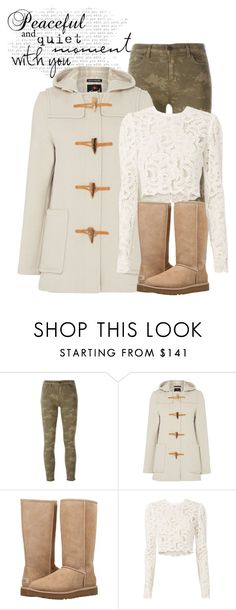 """Untitled #171"" by kiwipeach ❤ liked on Polyvore featuring J Brand, Gloverall, UGG and A.L.C."