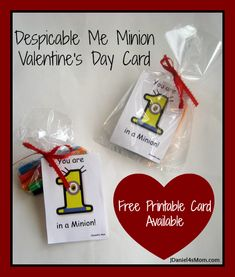 Despicable Me Minion Cards