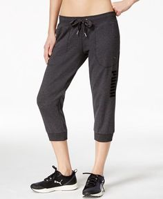 Puma Active Forever dryCELL Capri Pants - Activewear - Women - Macy's