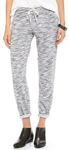 Monrow Cosmic French Terry Vintage Sweatpants on shopstyle.com