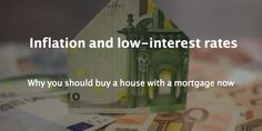 Low-interest rates with inflation allows you borrowing money almost for free Borrow Money, Interest Rates, The Borrowers, Posts, Blog, Stuff To Buy, Messages, Blogging