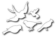 Frantic Stamper - Precision Dies - Small Birds (set of 5),$7.99