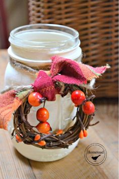 Fall-painted-mason-jars