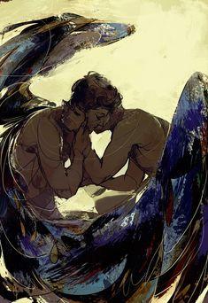 Dean + Castiel: Hush #spn #destiel
