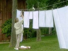 How To Make A Clothesline How To Make A Clotheslinebeen Needing One For A Couple Years Now