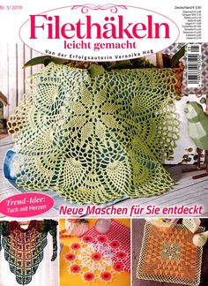 Filethakeln Обсуждение на LiveInternet - Российский Сервис ОнРCrochet Books, Knit Crochet, Crochet Hats, Knitting Magazine, Crochet Magazine, Lace Doilies, Crochet Doilies, Doily Patterns, Arts And Crafts
