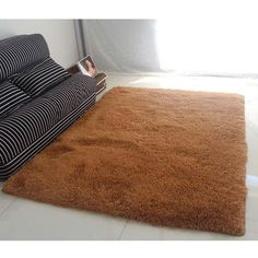 Fluffy Rugs Anti-Skiding Shaggy Area Rug Dining Room Carpet Floor Mats shaggy rugs shag rugs