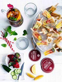 Pimm's Pop Recipe for your Summer Garden Wedding featured on Modern ...