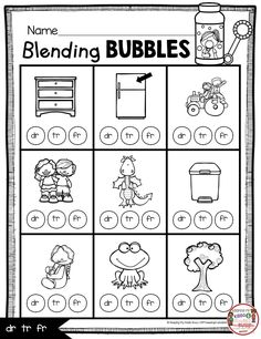 FREE consonant blends word work activities printable just laminate and easy to use Consonant blends beginning blends free activities and worksheets to teach kindergarten and first grade phonics phonics instruction printables anchor chart mini books Consonant Blends Worksheets, Phonics Blends, Phonics Worksheets, Phonics Activities, Free Activities, Reading Activities, Kindergarten Freebies, Kindergarten Centers, Teaching Kindergarten