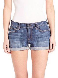 Joe's Clean Rolled Jean Shorts - Emmie - Size