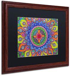 Trademark Global Hello Angel 'Mardi Gras Mandala' Matted Framed Art, 16  x 20 Tips Fitness, Mandala Canvas, Baby Clothes Shops, Mardi Gras, Art Reproductions, Framed Art, Graphic Art, Angels, Art Pieces