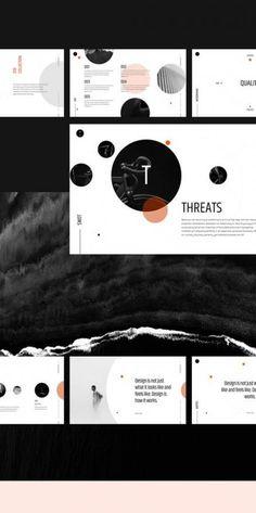 35 super Ideas for design presentation portfolio behance Ppt Design, Powerpoint Design Templates, Design Brochure, Slide Design, Keynote Template, Icon Design, Layout Design, Logo Design, Booklet Design