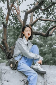 Tiffany Hwang, Chinese Actress, Asian Girl, Turtle Neck, Korean, Actors, Celebrities, Lady, Model