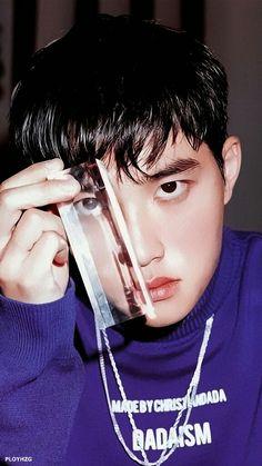 ( Lock Screen ) Do Kyungsoo Baekhyun Chanyeol, D O Exo, Exo Chanyeol, Kaisoo, Shinee, Exo Fanart, Two Worlds, Exo Album, Travie Mccoy