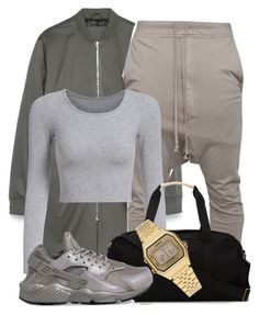 """""""Untitled #1219"""" by shyannelove123 ❤ liked on Polyvore featuring Zara, 321, Casio and NIKE"""