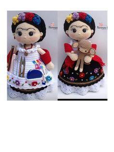 Crochet Ornament Patterns, Crochet Headband Pattern, Doll Amigurumi Free Pattern, Amigurumi Doll, Crochet Teddy, Crochet Bunny, Knitted Dolls, Crochet Dolls, Crochet Crafts