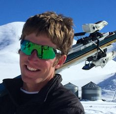 Novice Skier Wood River Extreme Skijoring, Hailey, Idaho © 2016 Skijor International