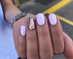 New Nail design & Nail arts in our app! More 90 best nails design ideas - Summer Nail Purple Ideen Purple Nail, Green Nails, Nail Art Designs, Short Nail Designs, Nails Design, Pink Manicure, Pink Nails, Hair And Nails, My Nails