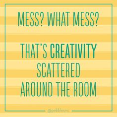 Creativity scattered